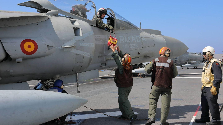 AV-8B PLUS de la Armada. (Juanjo Fernández)