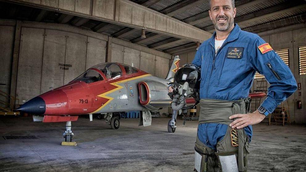 Eduardo Fermín Garvalena, el piloto fallecido en un accidente en un ensayo en La Manga
