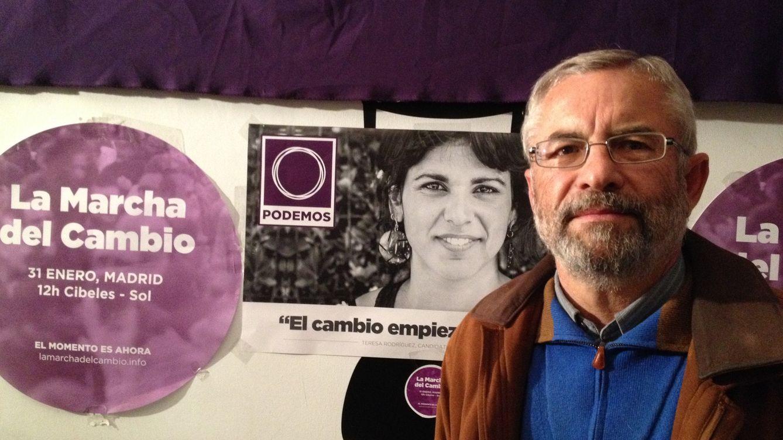 Foto: El candidato de Podemos Félix Gil. (Foto: A. Rivera)