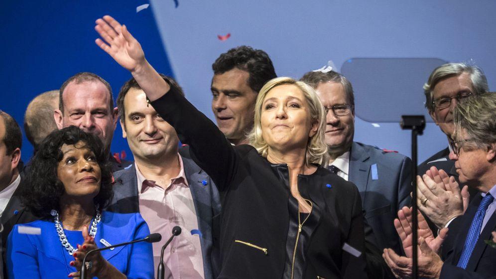 Foto: La líder del partido ultraderechista Frente Nacional (FN), Marine Le Pen. (EFE)