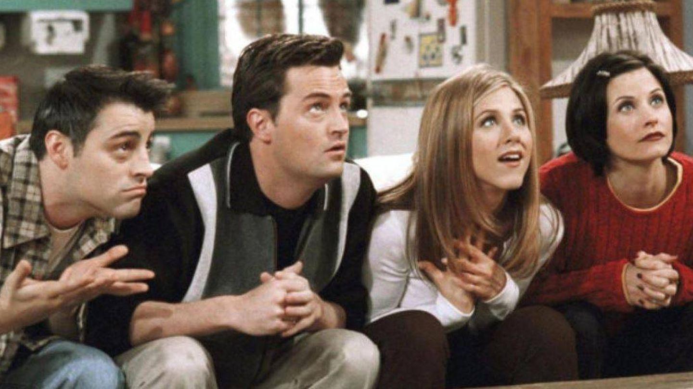 Fotograma de los actores de 'Friends'. (NBC)