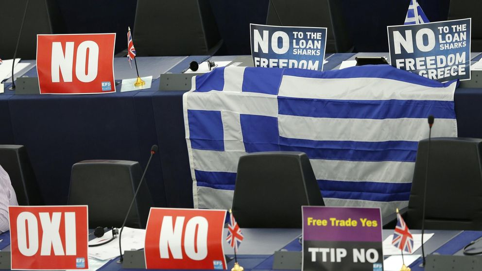 En Europa se masca la tragedia griega