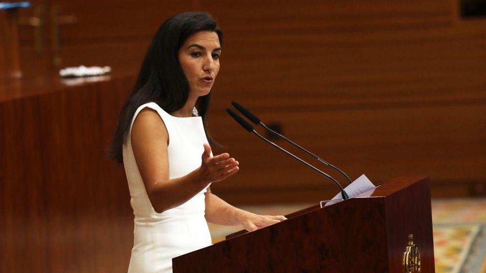 Foto: La portavoz de Vox en la Asamblea de Madrid, Rocío Monasterio. (EFE)