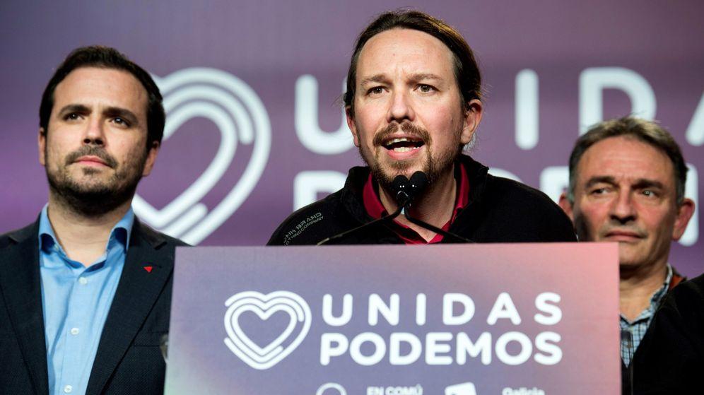 Foto: El secretario general de Unidas Podemos, Pablo Iglesias, comparece ante los medios de comunicación para analizar los resultados en las elecciones. (EFE)