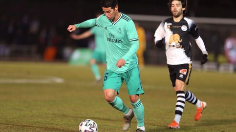 El año negro de James Rodríguez: ni con Zidane... ni con Simeone
