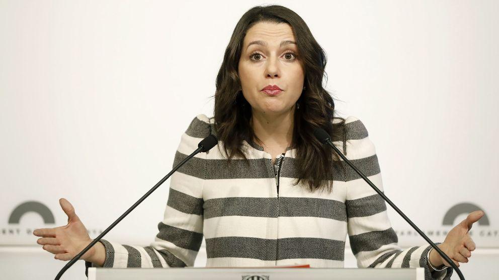 Arrimadas acusa a Puigdemont de hacer del procés su modus vivendi