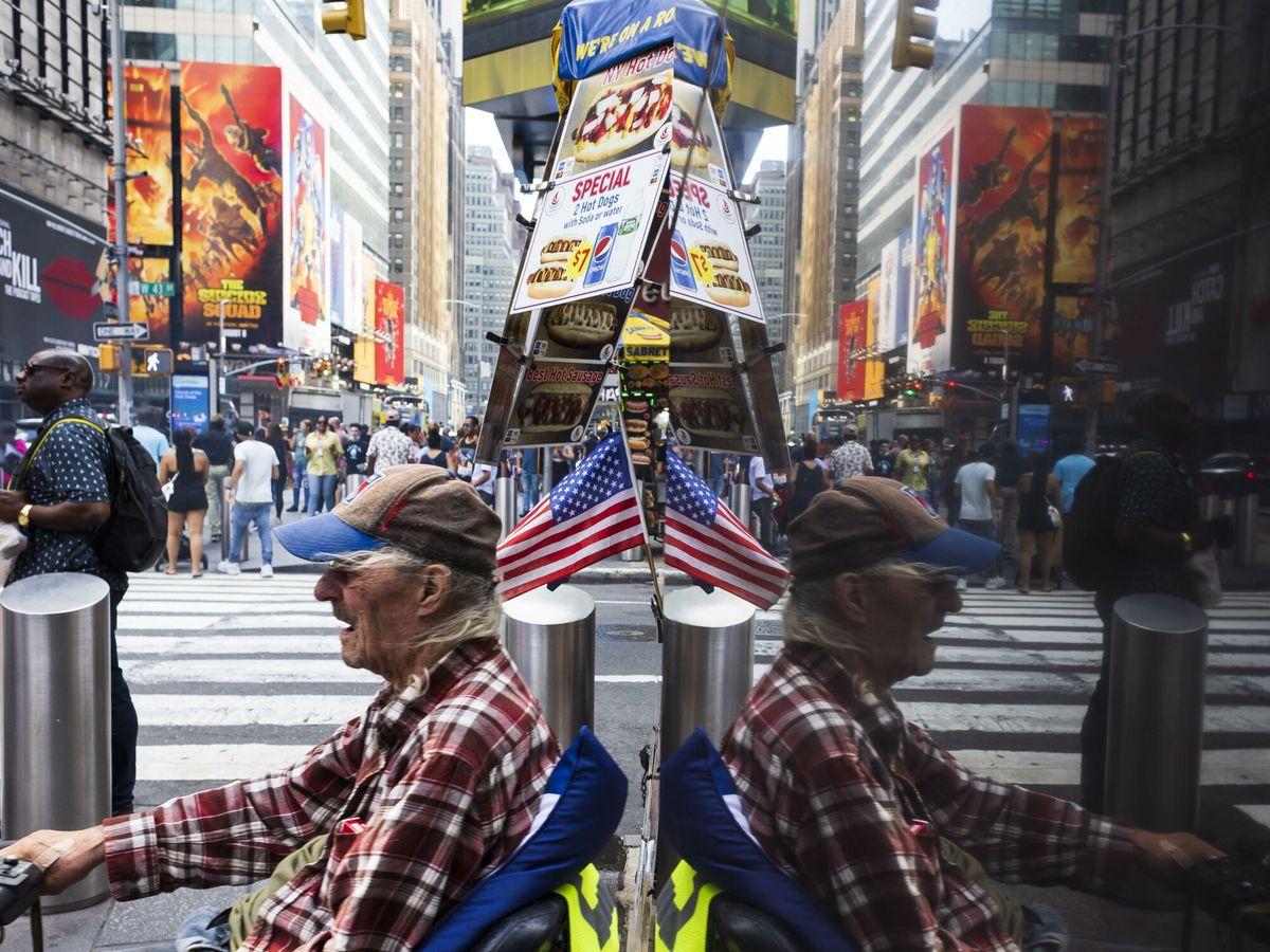 Foto: Times Square en Nueva York. (EFE)