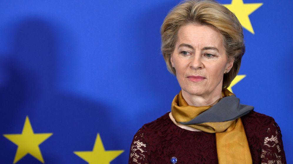 Foto: Von der Leyen. (Reuters)