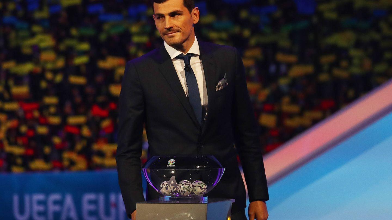 Iker Casillas, el pasado mes de noviembre en Bucarest. (Getty)