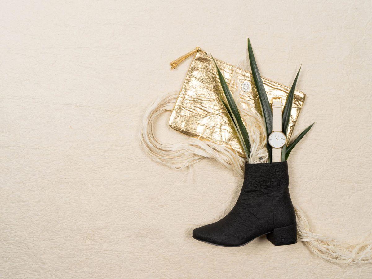 Foto: De las piñas a los zapatos, el modelo sostenible que sustituye al cuero. (EFE)