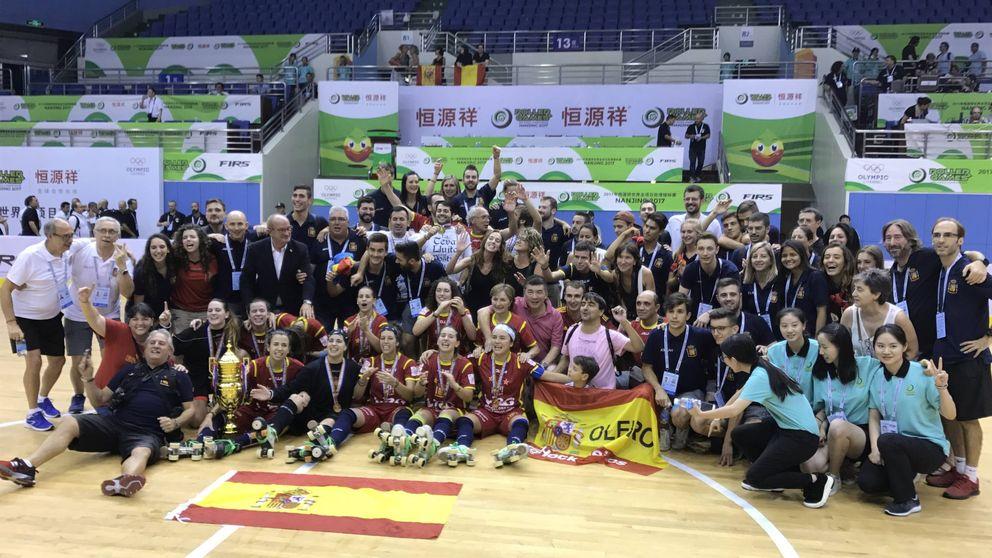 España, campeona del mundo en hockey sobre patines por segunda vez