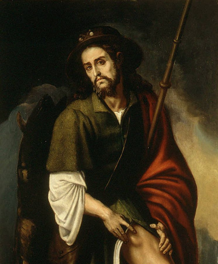 Foto: San Roque, en un cuadro realizado por Francisco Ribalta