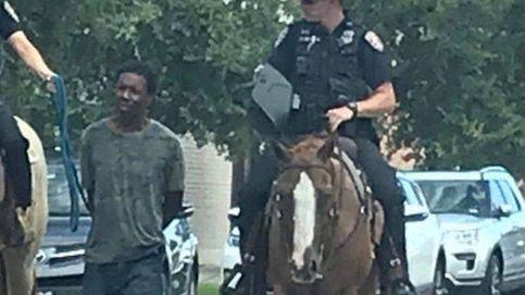 La policía de Texas se disculpa por trasladar atado a un hombre negro