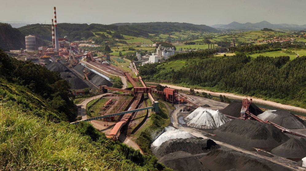 Foto: Planta térmica de carbón de Aboño, en Asturias. (EFE)