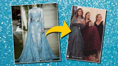 Encontramos el carísimo vestido con el que Amina debutó en Le Bal de París