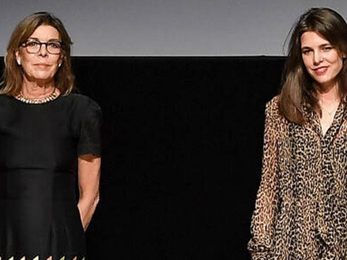 Foto: Carolina de Mónaco y Carlota Casiraghi. (Gouvernement Monaco)