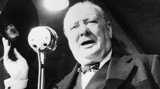 Sobre una presunta puñalada por la espalda de Churchill