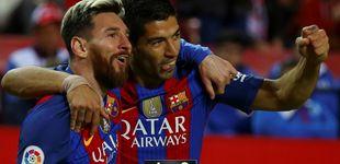 Post de El Sevilla jugó para romperla hasta que despertó la fiera y se llevó las llaves