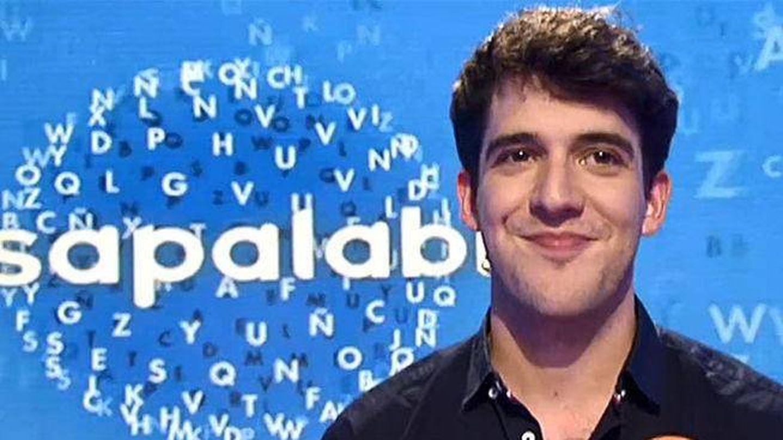 David Leo, en 'Pasapalabra'. (Telecinco)