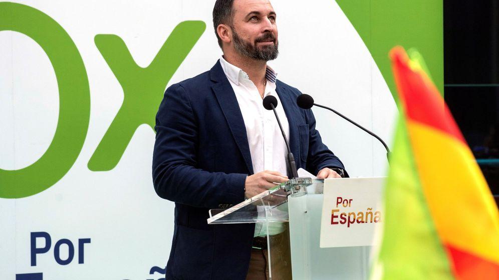 Foto: El candidato a la presidencia del Gobierno de Vox, Santiago Abascal. (EFE)
