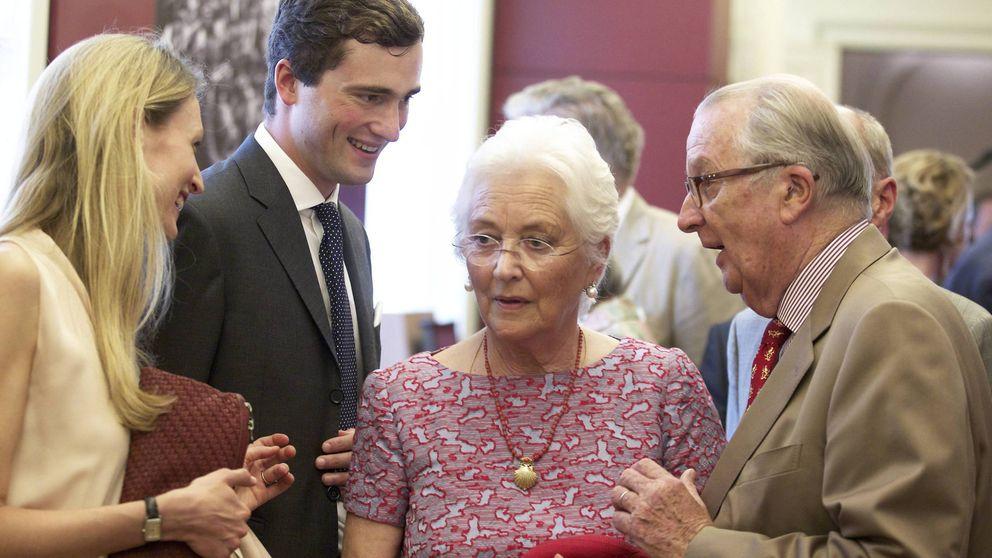Alberto y Paola de Bélgica se convierten en bisabuelos por primera vez