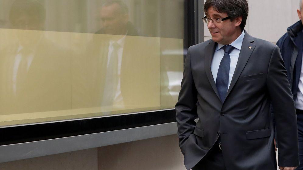 Foto: Puigdemont, en Bruselas   Foto: Reuters