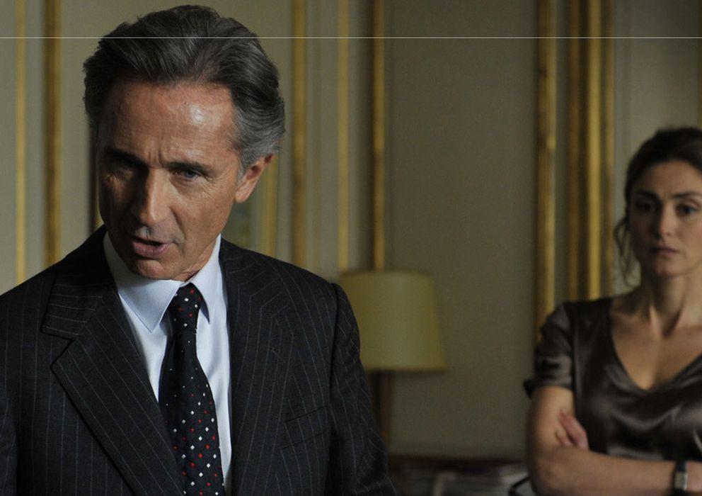 Foto: Thierry Lhermitte y Julie Gayet en una escena del filme