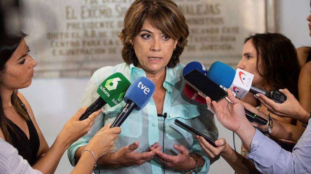 Foto: Ministra delgado dice que sentencia de la manada deja muy claro lo ocurrido