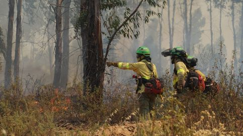 Estabilizado el incendio de Almonaster (Huelva) tras afectar a 10.000 hectáreas