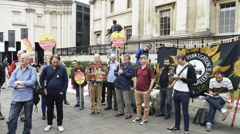 Primera huelga para Finaldi en la National Gallery