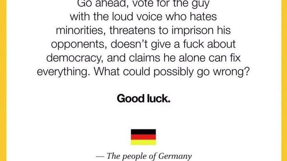 Trump y la Internacional Populista, una amenaza para la democracia