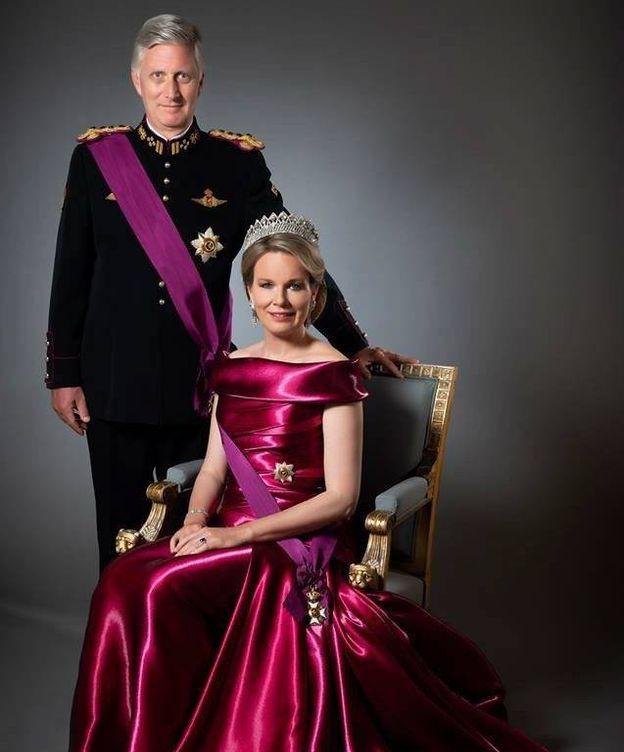 Foto: Felipe y Matilde de Bélgica. (Casa Real belga)