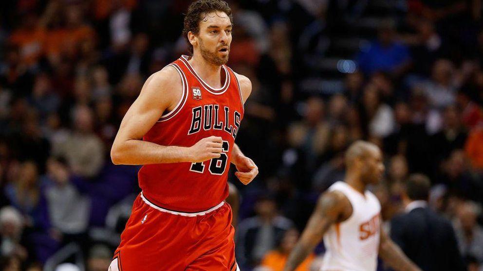 Pau Gasol se alía con Butler para colocar a los Bulls primeros del Este