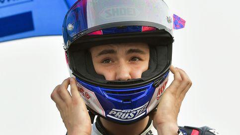 Dupasquier, piloto de Moto3, será intervenido de un edema cerebral tras su grave accidente