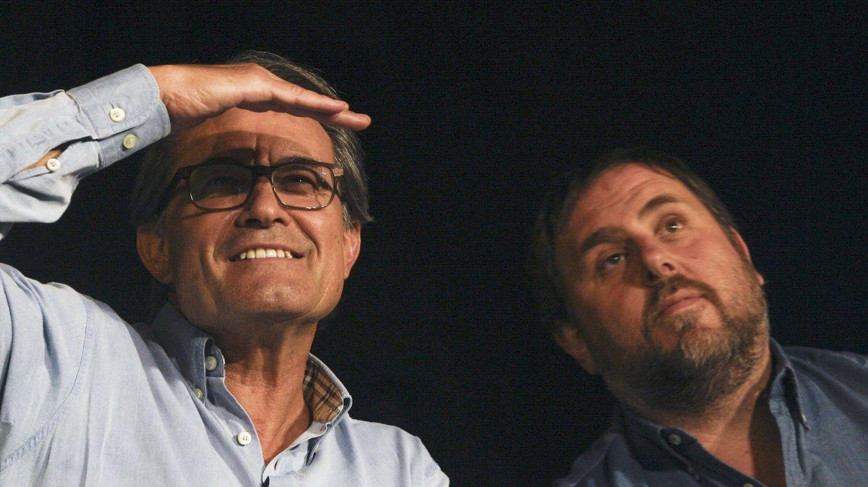 Un alcalde de JxCAT se repartió 2 millones con Pujol Jr. en un mitin de Mas y Junqueras