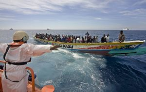 Los inmigrantes se vuelcan hacia las rutas más peligrosas