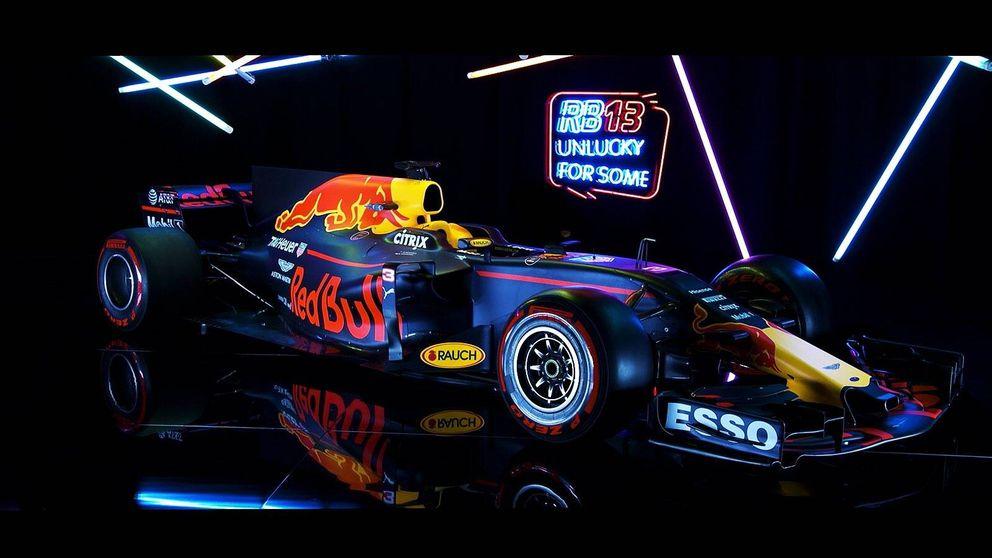 Red Bull no defrauda en su presentación: sorprendente morro de su nuevo RB13