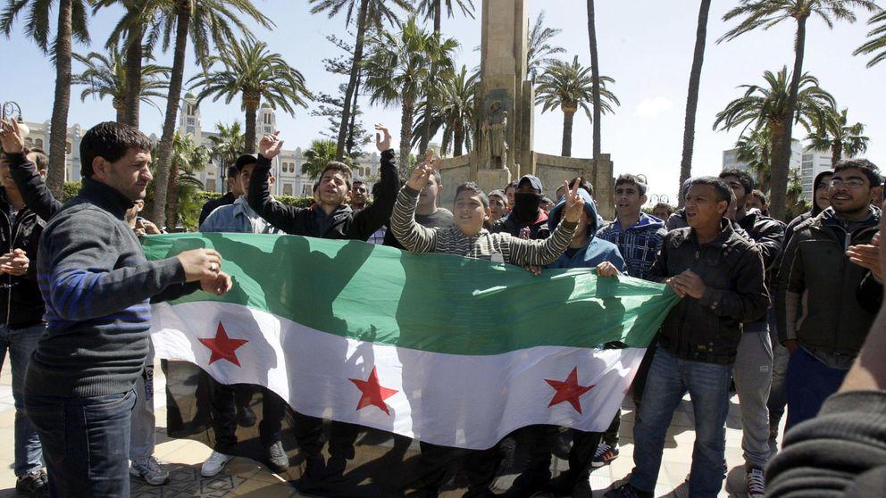 Los refugiados sirios se hacinan en el centro de inmigrantes de Melilla