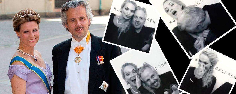 Foto: La princesa Marta Luisa con su marido