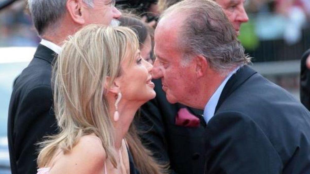 Foto: El Rey don Juan Carlos junto a la princesa Corinna