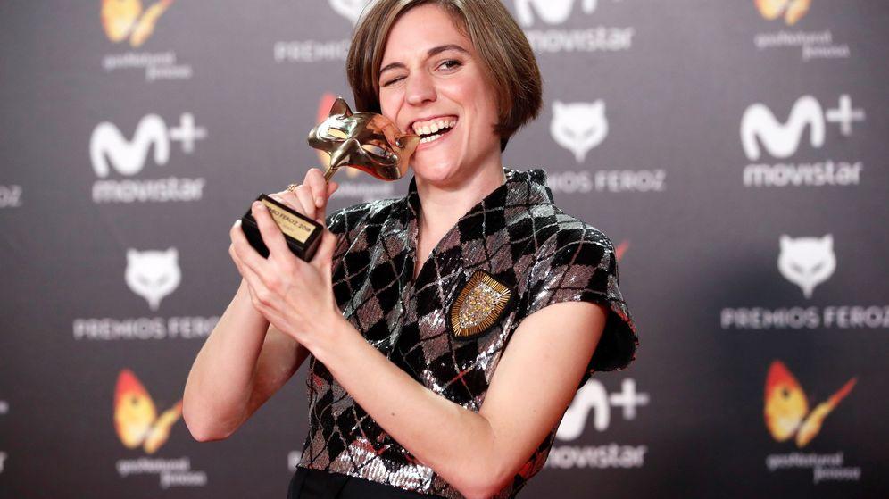 Foto: Carla Simón, la gran triunfadora de los Premios Feroz. (Efe)