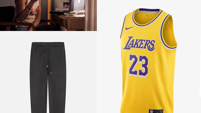 Camiseta de Nike y pantalones de Oysho.