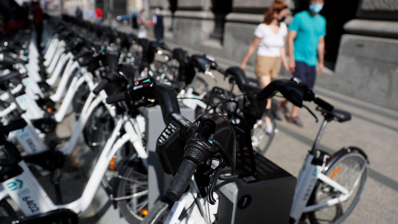 Bicicletas públicas en Madrid. (EFE)