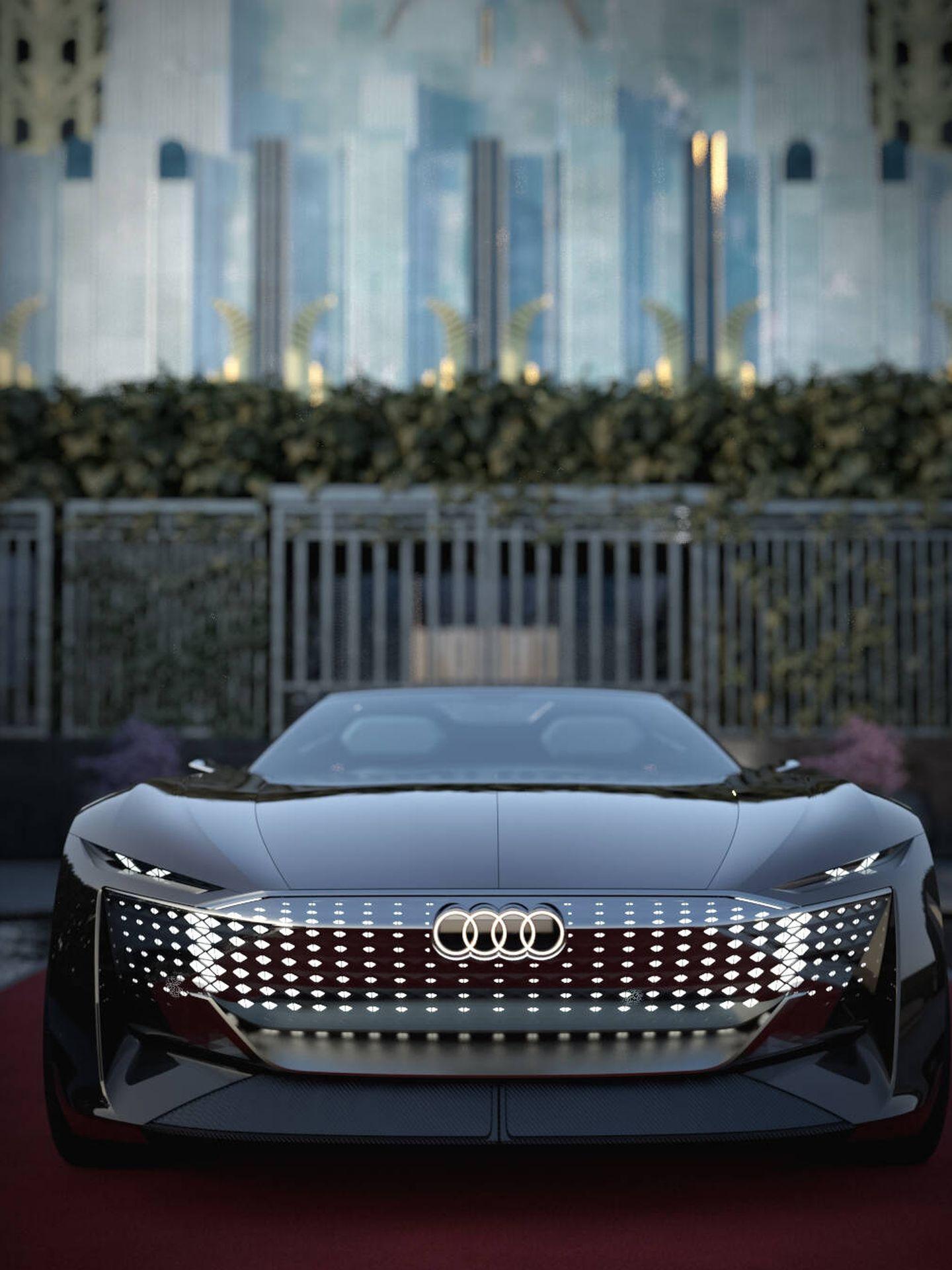 Tiene paneles LED delante y detrás. (Audi)