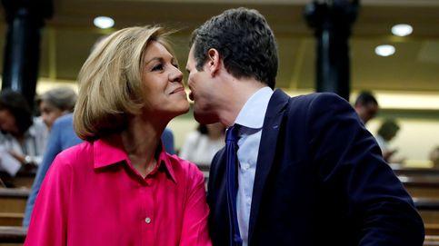 Cospedal apoya a Casado y dice que es una magnífica opción para presidir el PP