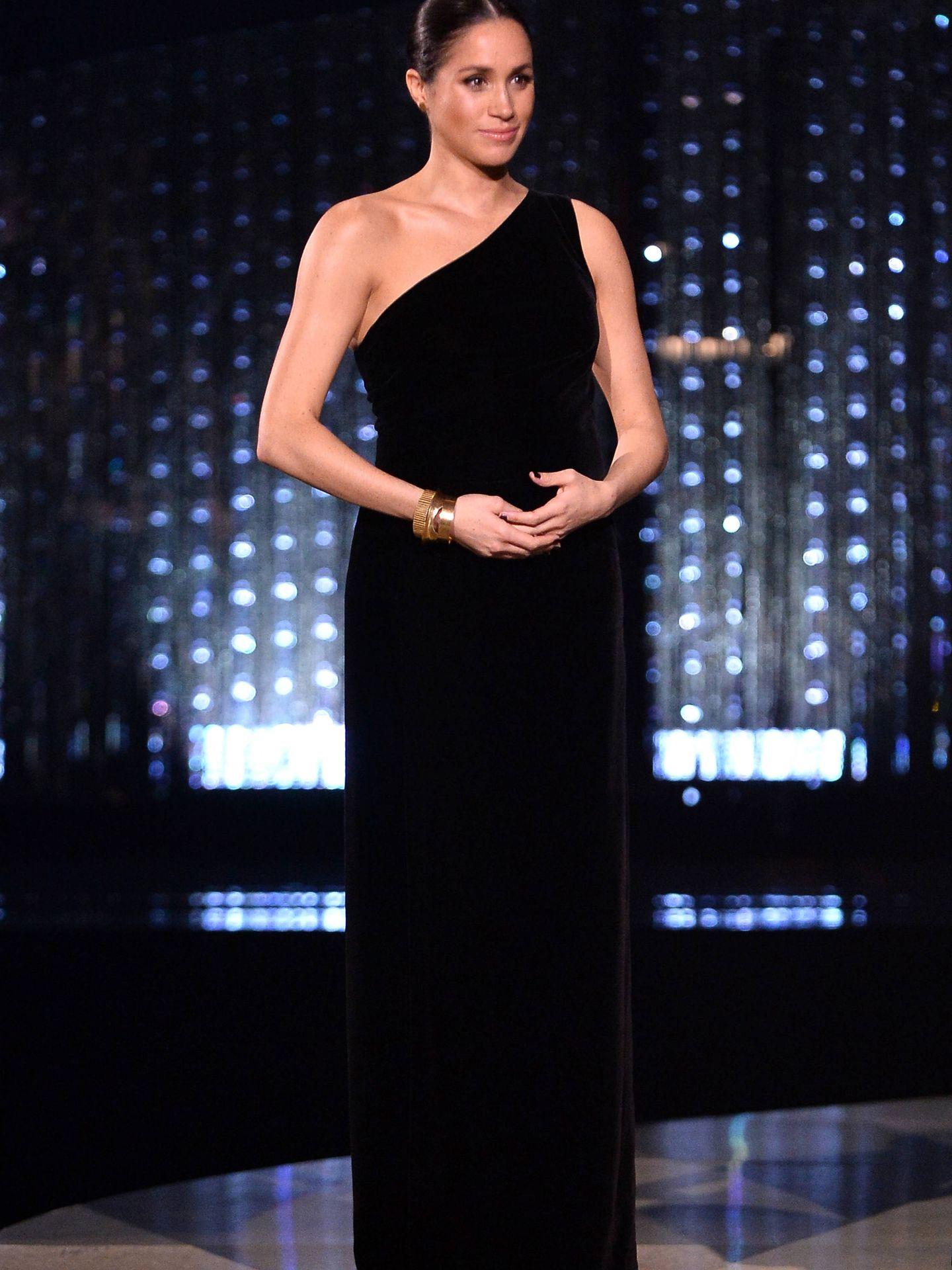 En los British Fashion Awards. (Getty)