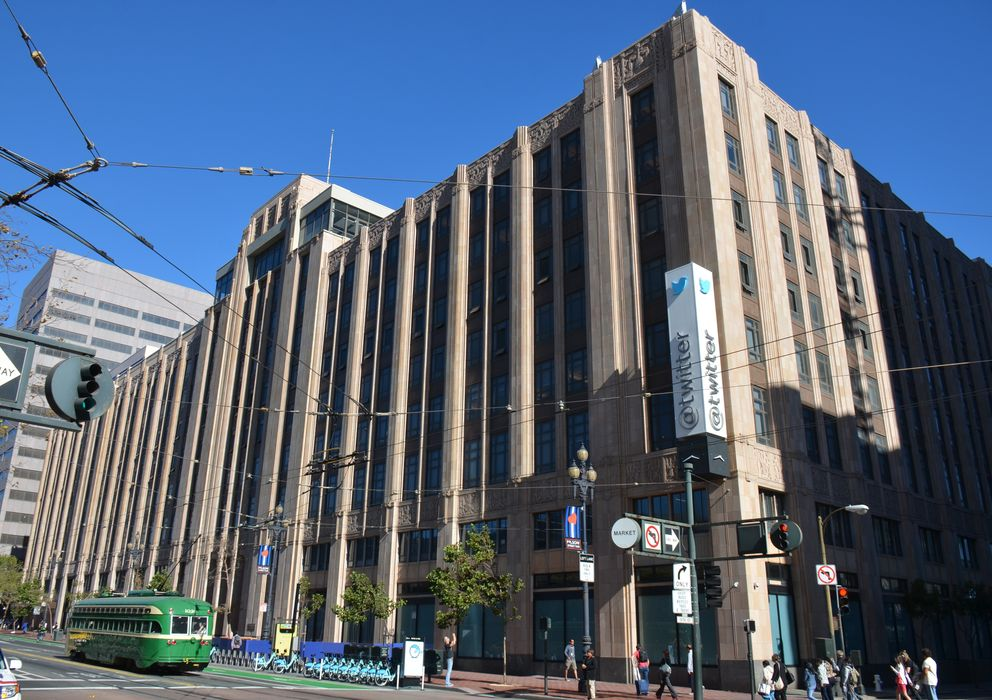 Foto: La sede de Twitter en San Francisco