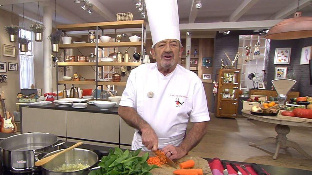 Foto: Karlos Arguiñano en 'Karlos Arguiñano en tu cocina'. (Atresmedia Televisión)