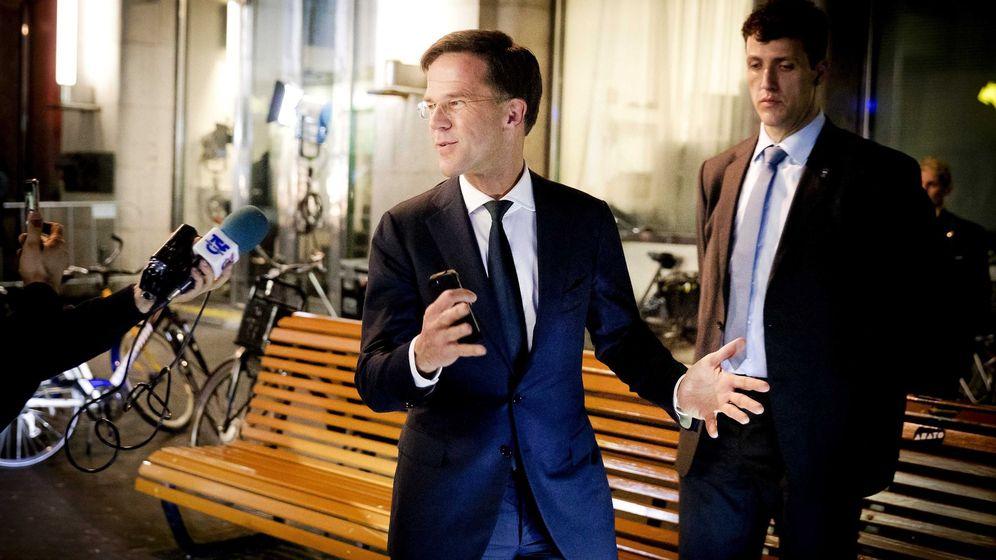 Foto: El primer ministro holandés Mark Rutte, del Partido del Pueblo para la Libertad y la Democracia. (EFE)