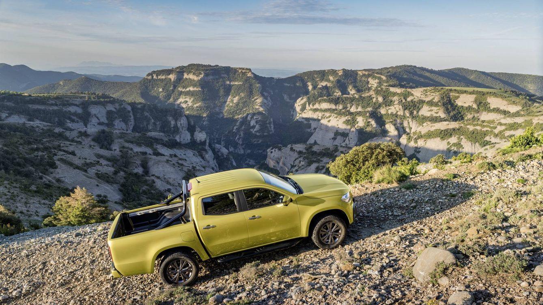 Mercedes entra en el mundo del pick-up con la Clase X